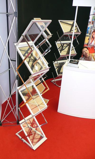 présentoir pliant MS15 energy pour documents 30 x 22 cm